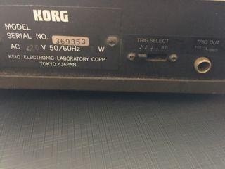 Caja de Ritmos Korg KR 55