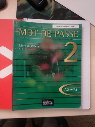 Mot de passe , livre de l'élève bachillerato