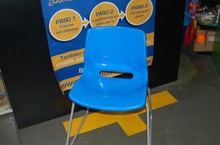 sillas de oficina apilables buen estado