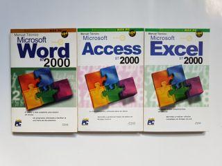 3 manuales técnicos de Microsoft