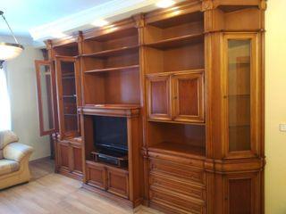 Muebles de sal n madera de cerezo de segunda mano por 600 - Muebles salon alicante ...