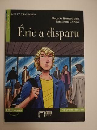 Libro de lectura en francés Eric a disparu