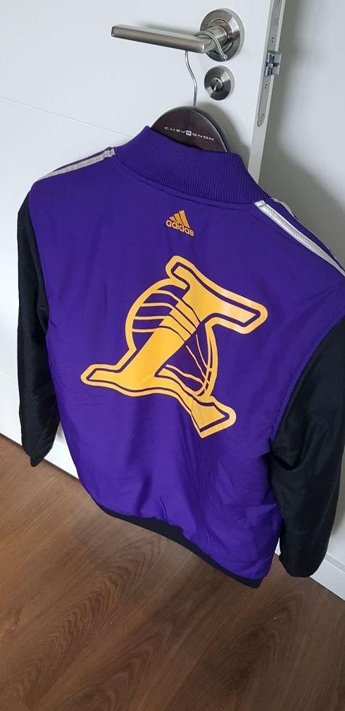 481f1c2cd Cazadora Adidas los Ángeles Lakers reversible de segunda mano por ...
