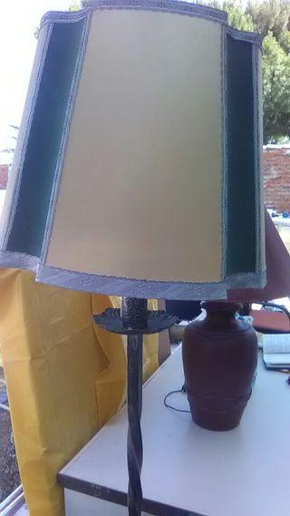 lampara de pie vintage hierro