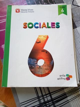 Libro texto 6 primaria Sociales