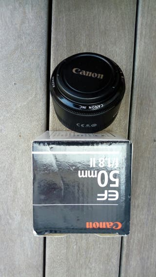 objetivo camara 50 mm