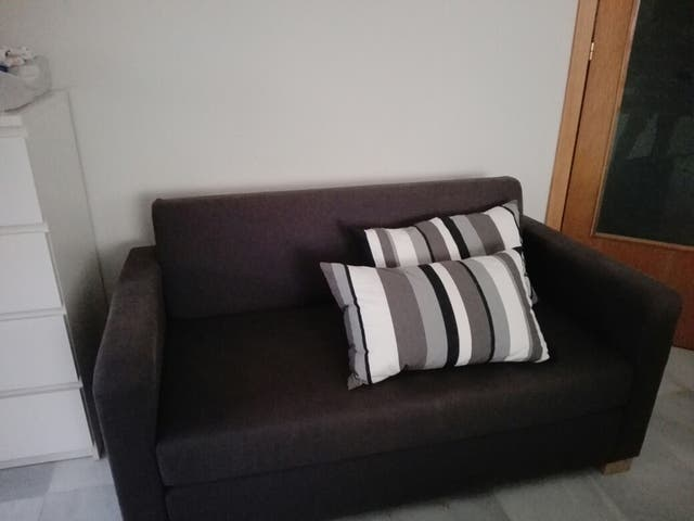 Sofa Cama Ikea Solsta De Segunda Mano Por 50 En Sabadell En Wallapop