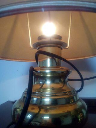 lamparas de latón
