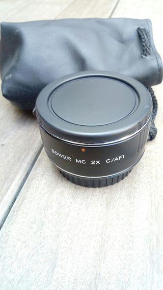 adaptador foco para cannon