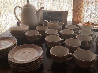vajilla café NUEVA porcelana