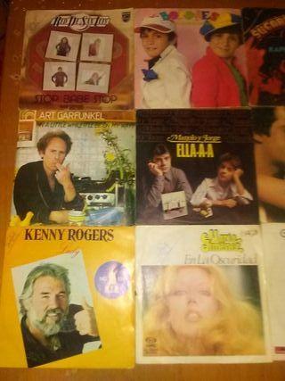 discos de vinilo single