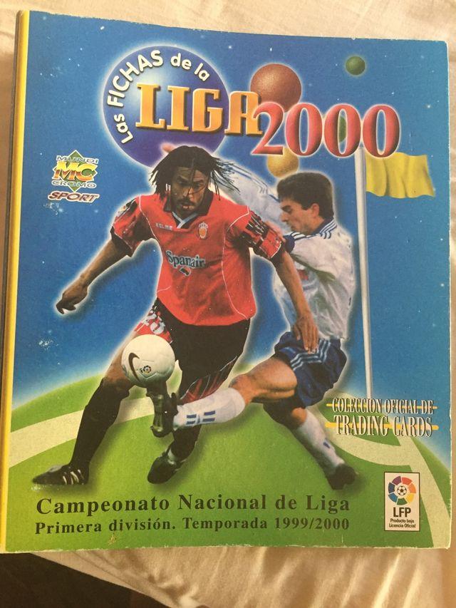 Album de cromos de la liga 2000