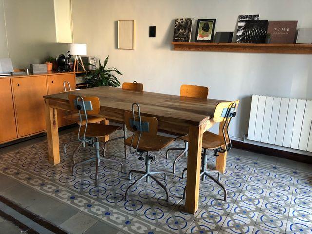 mesa comedor stockholm maison du monde para 6 pers