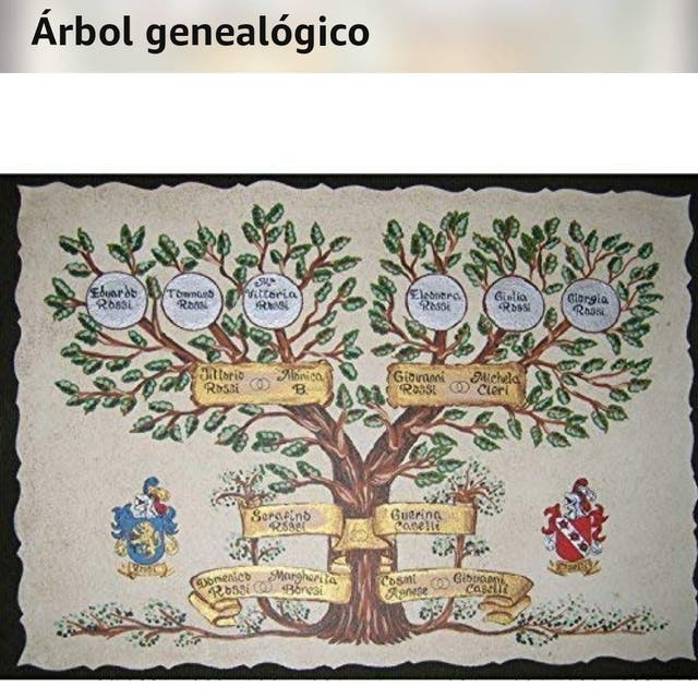 ÁRBOL GENEALÓGICO ARTESANAL