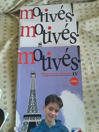 libros francés motivés 4 Eso