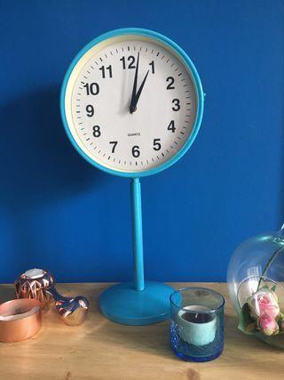 Reloj Quartz bifacial retro años 60
