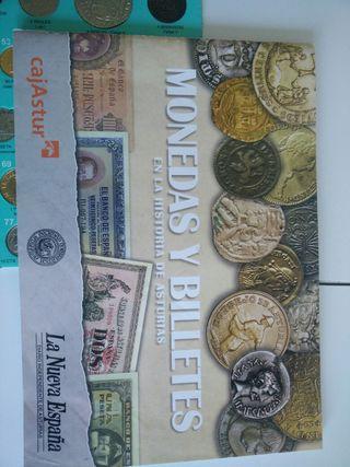 album de monedas y billetas