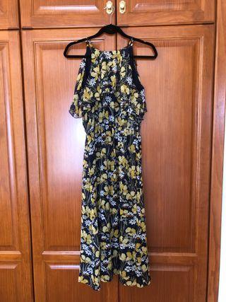 Vestido con flores de Esprit!