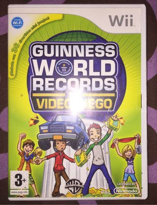 Juego Wii Guinness World Records