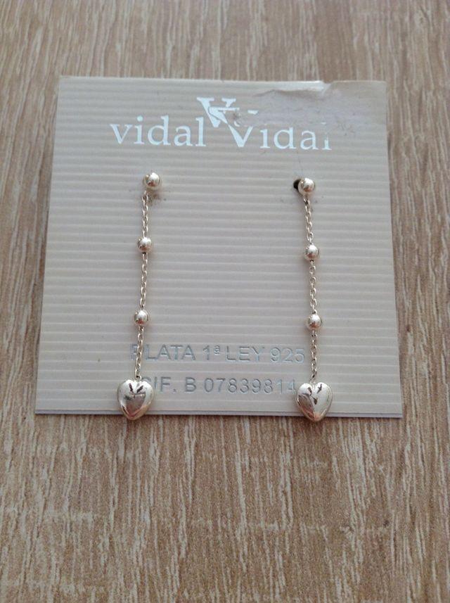 618537e3090e Pendientes plata Vidal de segunda mano por 15 € en Valencia en WALLAPOP
