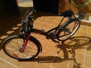 Bicicleta niña desde 8 años y hasta 1,40 de altura