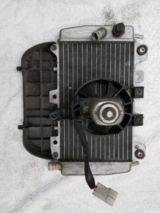 Piaggio x9 125cc Radiador y electro ventilador
