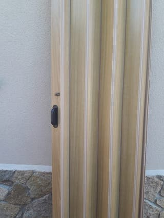 3 puertas plegables PVC