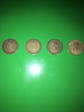 Monedas pesetas coleccionismo