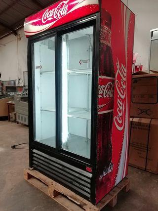 nevera Coca Cola bebidas doble