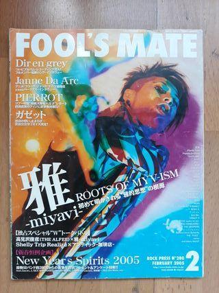 Fool's mate revista japonesa j-rock visual kei
