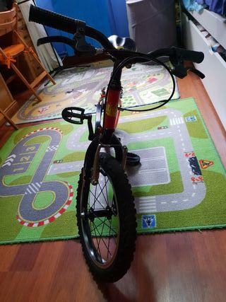 vendo bici de niño rueda 16