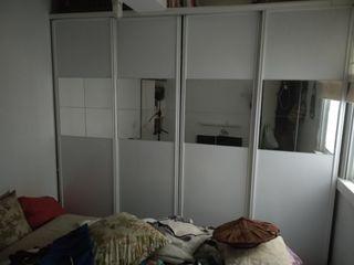 4 puertas correderas armario