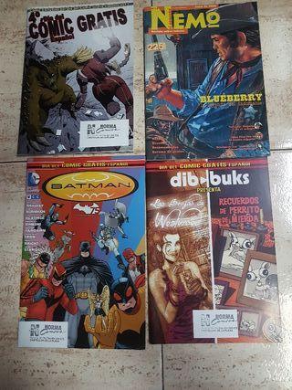 Pack de comics