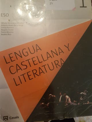 libro lengua 1 eso