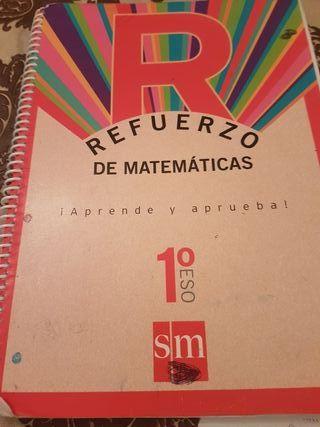 refuerzo de matemáticas 1 eso