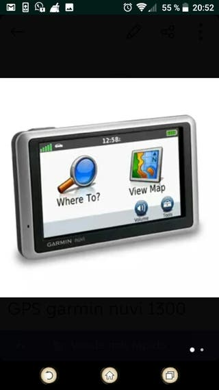 GPS garmin nuvi 1300