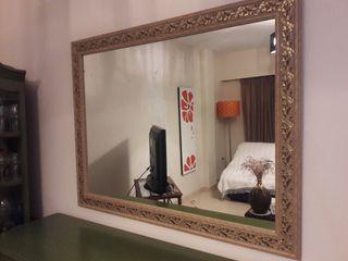 Espejo Grande Sin Marco De Segunda Mano En Wallapop