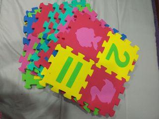alfombra de puzzles