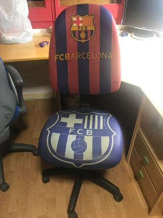 Silla de oficina del Barça