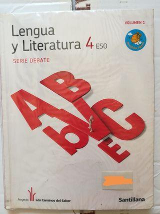 LIBRO DE LENGUA Y LITERATURA 4 ESO