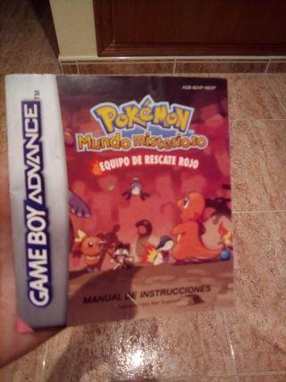Manual gba Pokemon