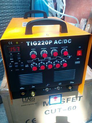 Tig AC/DC 220mp.Profesional