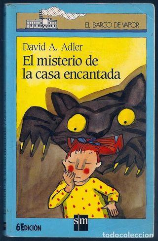 EL MISTERIO DE LA CASA ENCANTADA   DAVID A. ADLER