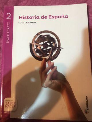 Libro de Historia, 2 bachiller