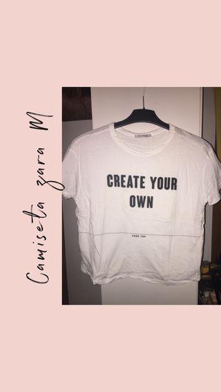 Camiseta zara M