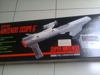 Super Nintendo Super Scope NUEVO