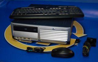 Torre Pc HP Compaq modelo HTSNC-008P-SFP Pc XP