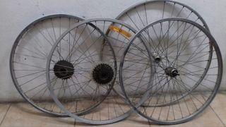 3 ruedas de bici