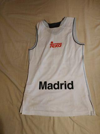 camiseta real Madrid baloncesto