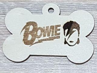 Chapas identificativas de madera para perros